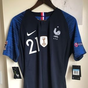 Nike France vapor match 2018 home jersey